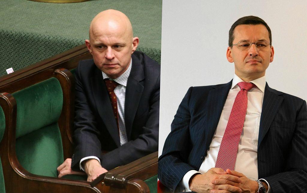 Minister finansów Paweł Szałamacha; wicepremier i minister rozwoju Mateusz Morawiecki