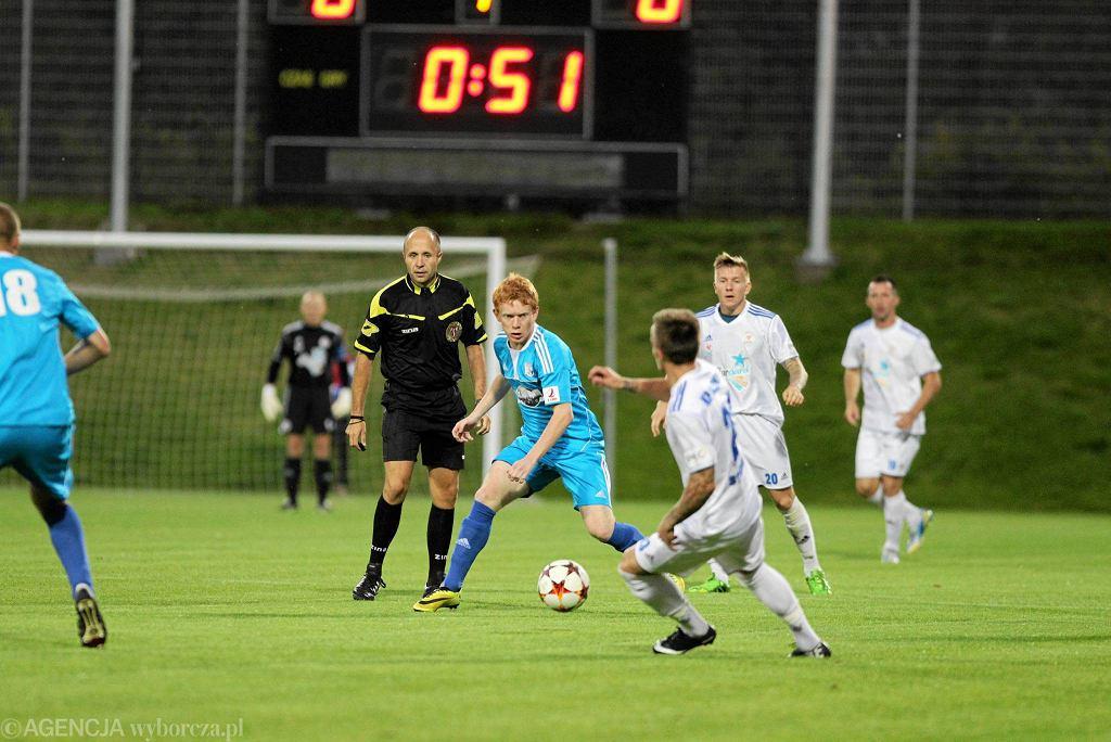 Piłkarze Kotwicy Kołobrzeg mają za sobą udaną rundę jesienną