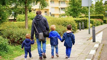 Mandat za spacer z dzieckiem