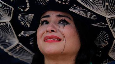 Rozpacz Meksykanki po porażce z Holandią