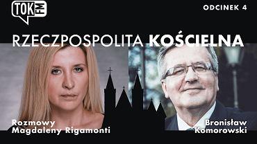 Podcast 'Rzeczpospolita Kościelna'. Gościem Bronisław Komorowski