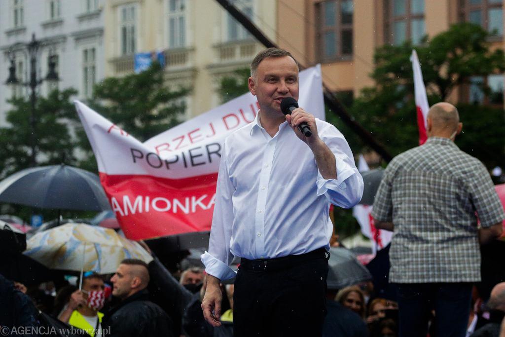 Prezydent Andrzej Duda w Krakowie