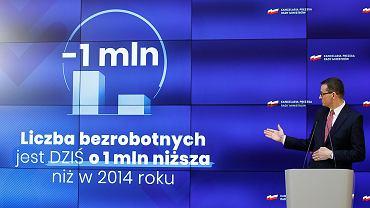 Konferencja prasowa Mateusza Morawieckiego w KPRM