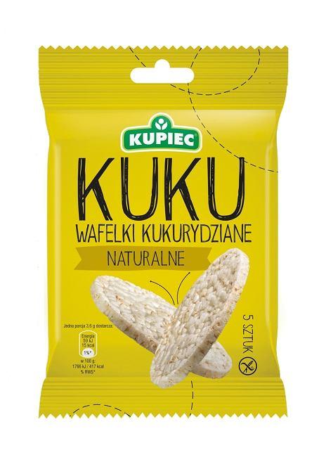 Wafle kukurydziane KUKU - Kupiec