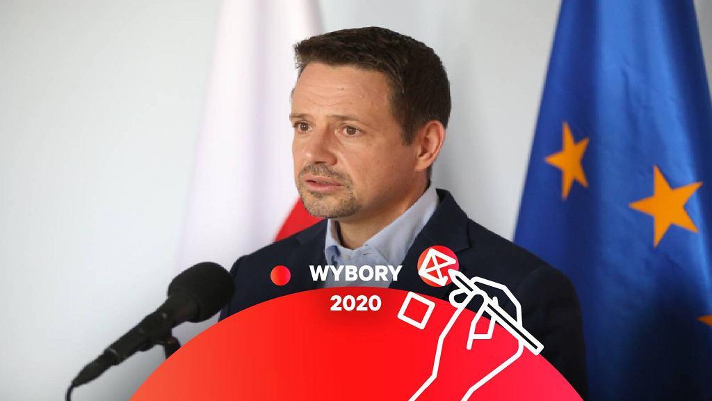 Rafał Trzaskowski w Szczecinku