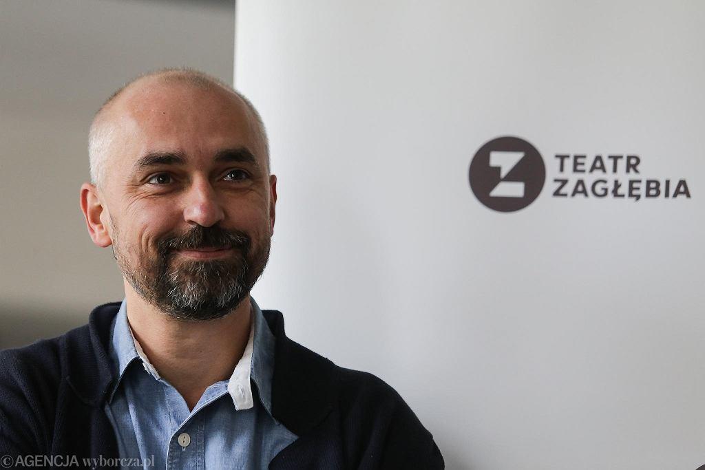 Jacek Jabrzyk, dyrektor artystyczny Teatru Zagłębia w Sosnowcu / DOMINIK GAJDA