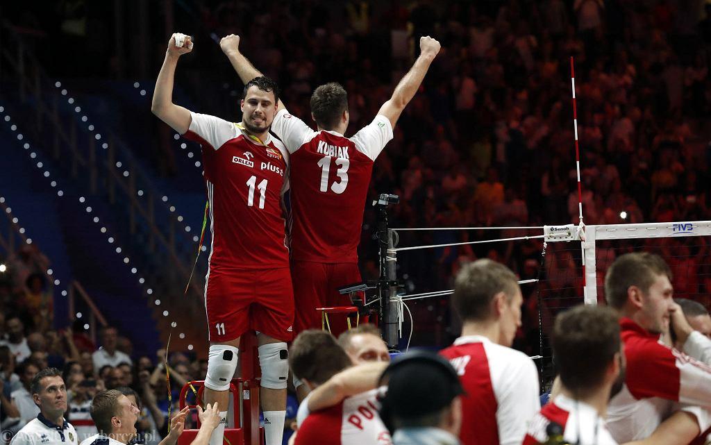 Fabian Drzyzga po meczu finałowym mistrzostw świata w siatkówce we Włoszech