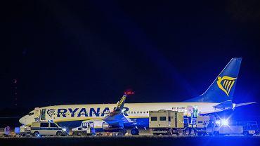 Awaryjne lądowanie samolotu Ryanaira w Berlinie