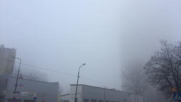 Smog w Warszawie. Warsaw Trade Tower