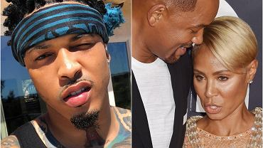 August Alsina, Will Smith, Jada Smith