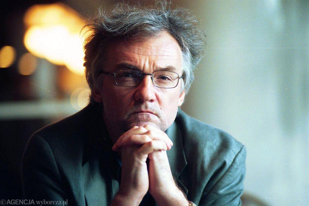 Jerzy Pilch (fot. Wojciech Olkuśnik / Agencja Gazeta)