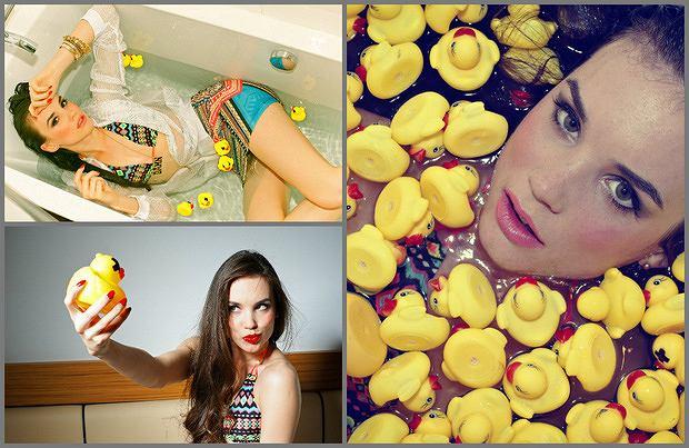 Kampania Bad Rubber Ducker by Cropp