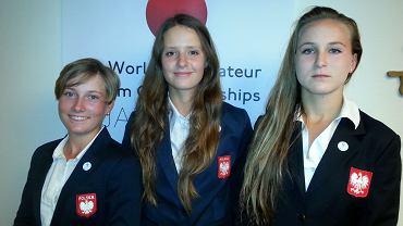 Zalewska, Gradecka i Kossacky reprezentują Polskę w Drużynowe MŚ