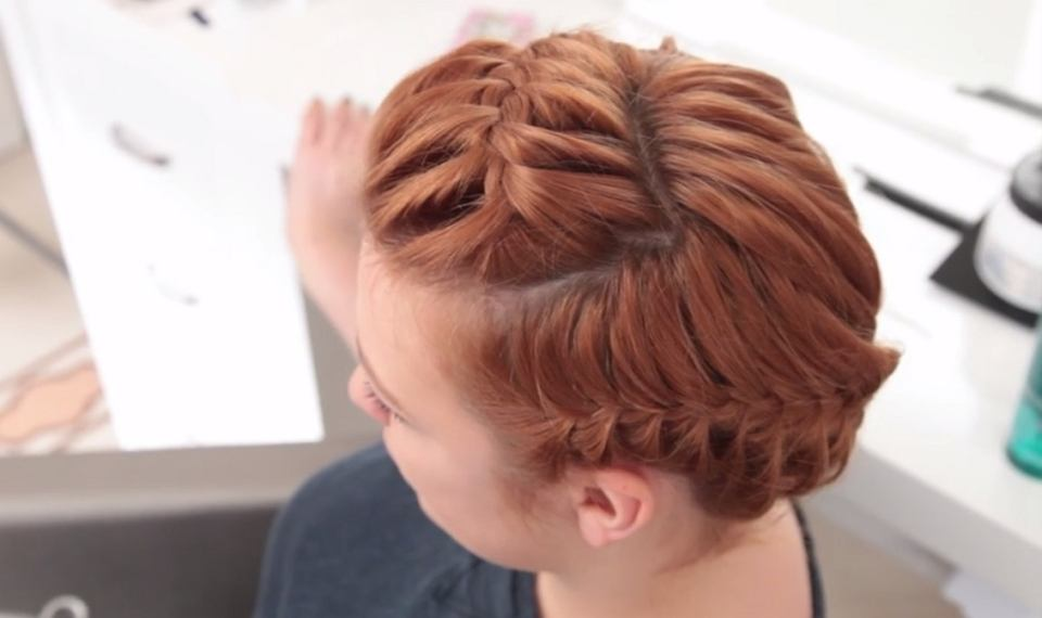 Fryzury Dla Krótkich Włosów Korona Wideo