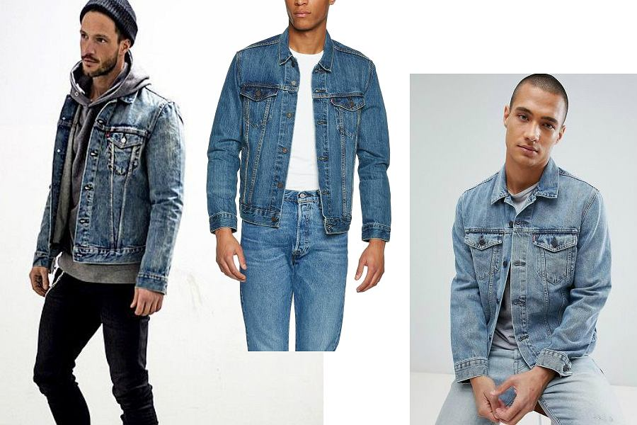 Kurtki jeansowe męskie