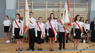 Rozpoczęcie roku szkolnego w nowej szkole podstawowej im. Olimpijczykow (zdjęcie ilustracyjne)