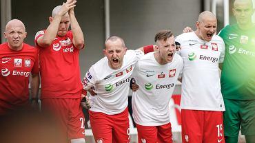 Mecz Polska - Angola podczas mistrzostw świata w Amp Futbolu