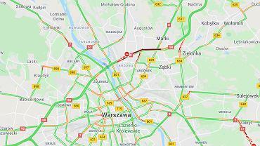 Warszawa. Tragiczny wypadek na trasie S8. Nie żyje jedna osoba