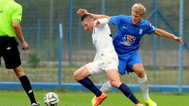 Lech Poznań - Pogoń Szczecin 0:0 w sparingu rozegranym we Wronkach. Paulus Arajuuri i Marcin Robak