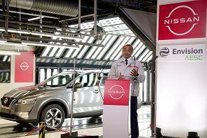 Nissan daje elektryczną przyszłość swojej brytyjskiej fabryce aut