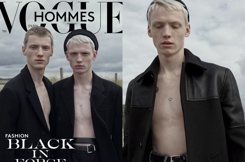 Stasiek Zienkiewicz na okładce francuskiego 'Vogue'a'