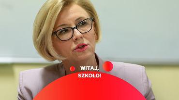 Wiceministra edukacji Marzena Machałek