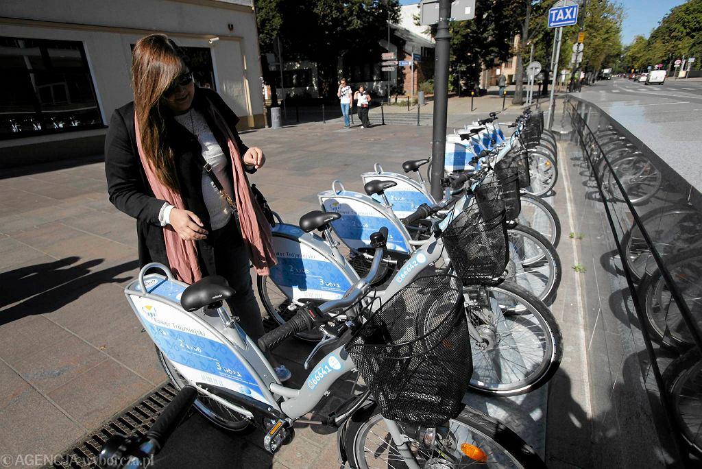 Pilotażowy system roweru miejskiego w Sopocie