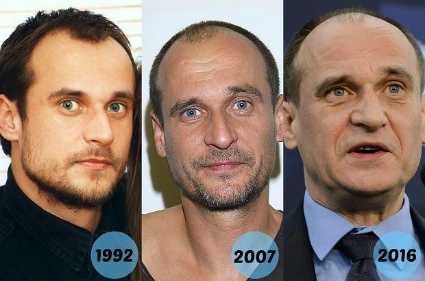 Upływ czasu nie wydaje się dotyczyć Pawła Kukiza. Polityk i artysta od początku swojej kariery wygląda praktycznie tak samo!