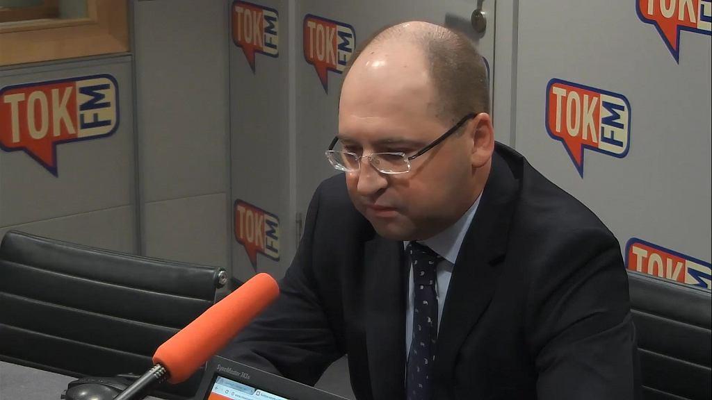 Senator Adam Bielan w Radiu TOK FM.