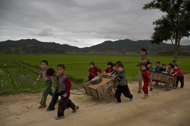 Zdjęcie numer 0 w galerii - Życie codzienne w północnej części państwa Kim Dzong Una