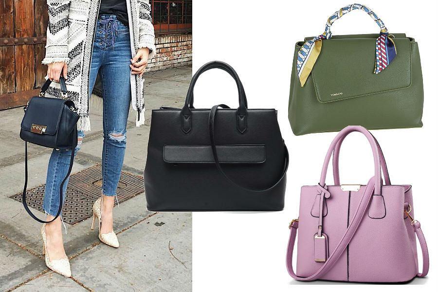 37c9219ac0a531 Pojemne torebki do eleganckich stylizacji. Modele do 150 zł