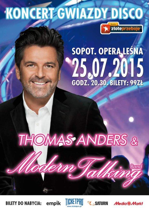 25 lipca w Operze Leśnej w Sopocie, wyjątkowy koncert Thomasa Andersa!