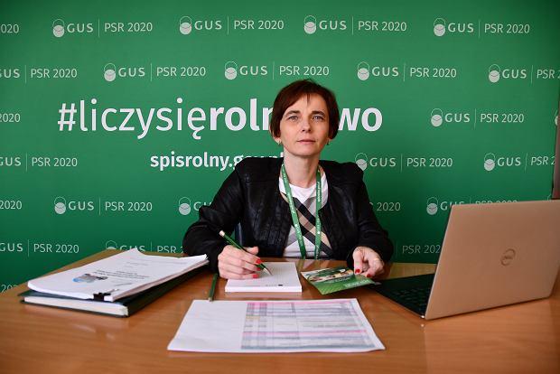 Agnieszka Ajdyn, zastępca dyrektora Urzędu Statystycznego w Warszawie