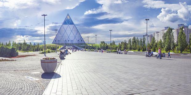 Piramida w Astanie