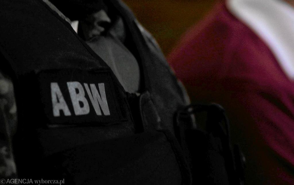 Funkcjonariusz ABW (zdjęcie ilustracyjne)