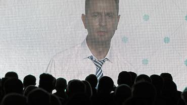 Prezes Władysław Kosiniak Kamysz podczas konwencji wyborczej PSL. Warszawa, 9 września 2018