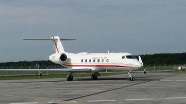 Samolot VIP o nazwie Gen Kazimierz Pułaski.