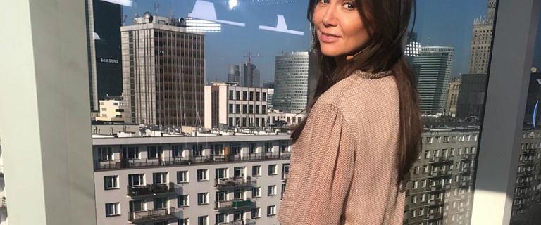 Kinga Rusin w sukience polskiej marki. Fanki zachwycone! Dopytują skąd jest ten wyjątkowy model