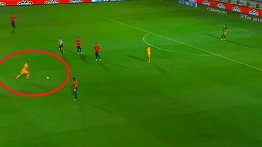 Tigres strzela gola Veracruz