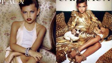 """Thylane Blondeau to bohaterka kontrowersyjnej sesji w """"Vogue Paris"""", do której pozowała mając zaledwie 10 lat. Dziś ma 15 lat i właśnie zaliczyła swój debiut na czerwonym dywanie. Wyrosła na piękną dziewczynę. Zobaczcie, jak się zmieniła."""