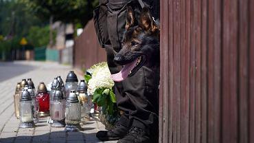 Morderstwo w Borowcach. Krewna o synu zamordowanych: To biedne dziecko było świadkiem tak strasznej tragedii