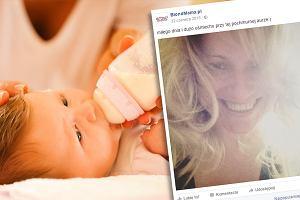 """""""Nie jesteś gorszą matką"""" - blogerka napisała o presji karmienia piersią. Trafiła w czuły punkt"""