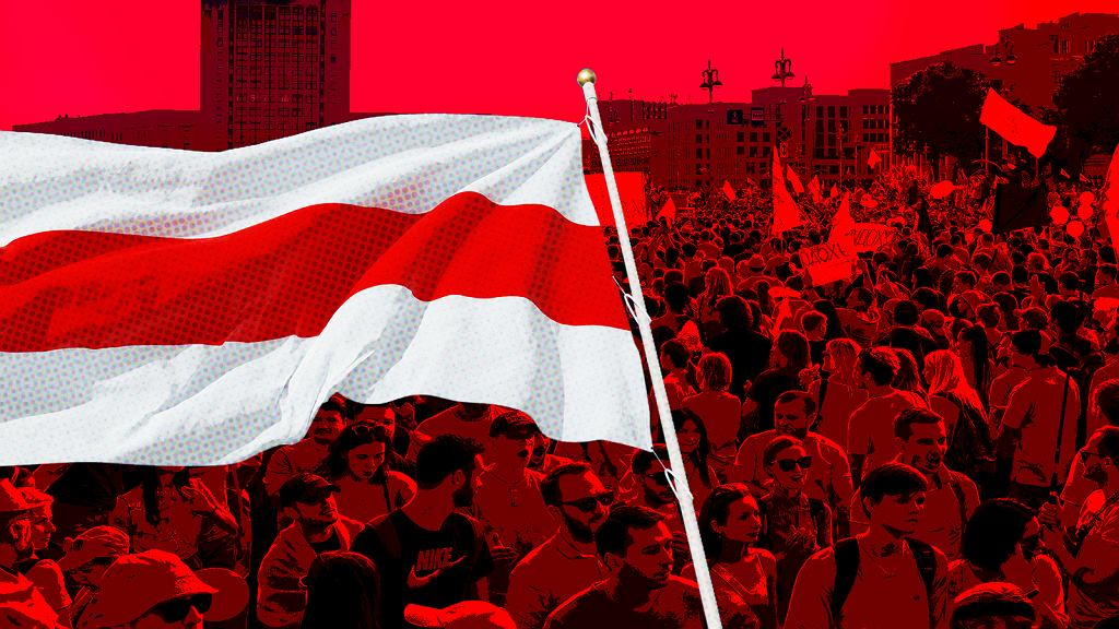 Mija rok od protestów na Białorusi