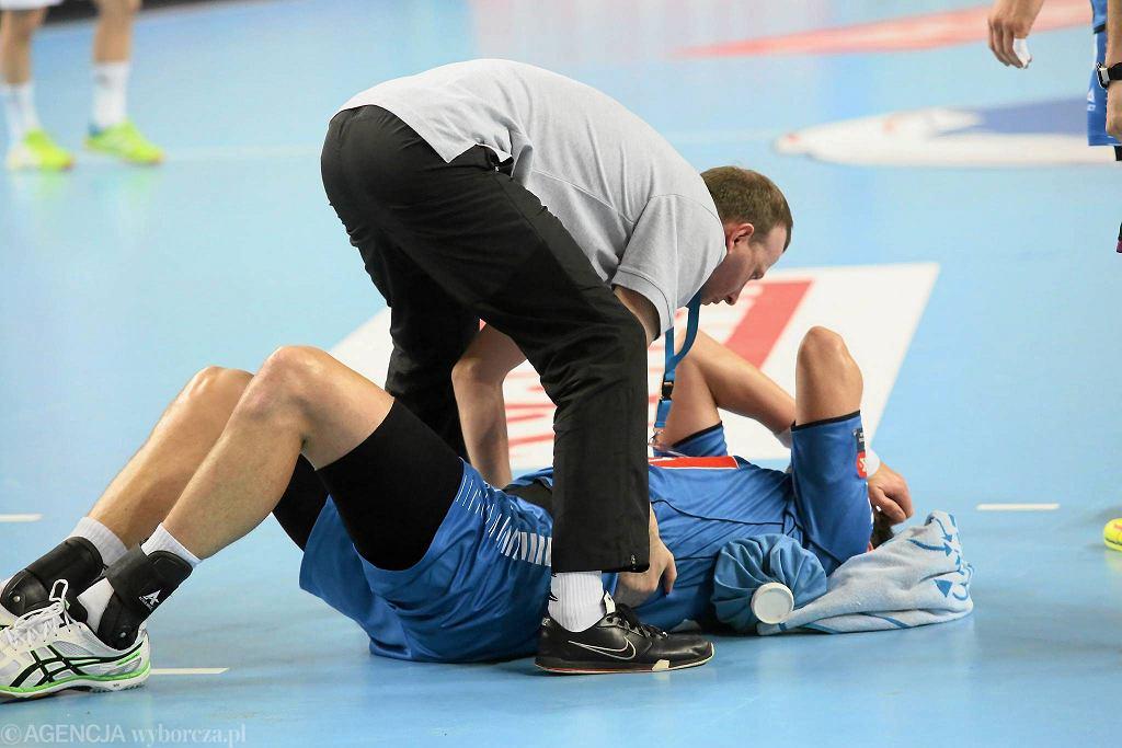 Marcin Lijewski wystąpił w meczu z Veszprem z bólem w żebrach. Teraz jest już wszystko w porządku