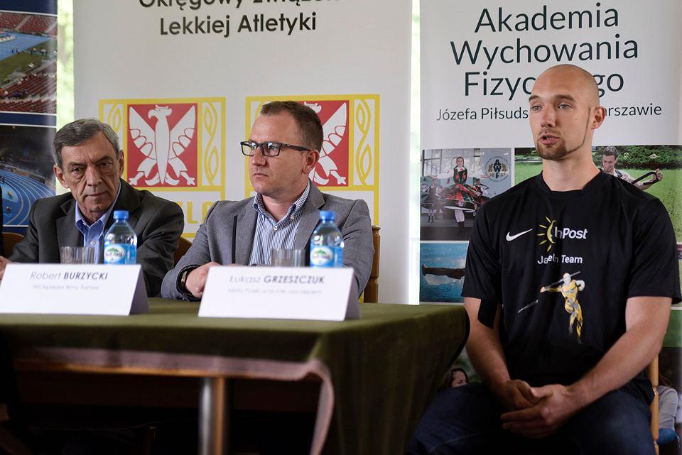 Konferencja prasowa przed I Memoriałem Zygmunta Szelesta