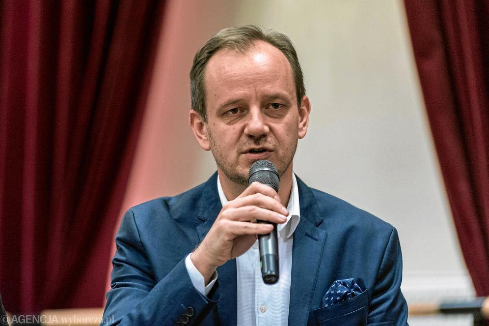 Dyrektor Opery Wrocławskiej Marcin Nałęcz-Niesiołowski