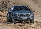 Mercedes EQC 4x4^2 - szalony do kwadratu. Ma wielki prześwit i elektryczny napęd