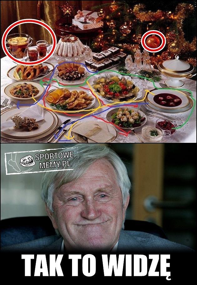 Zdjęcie numer 2 w galerii - Hajto radzi jak przygotować karpia, a Gmoch jak ustawić potrawy na stole [ŚWIĄTECZNE MEMY]