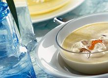 Zupa grzybowa z kawiorem - ugotuj