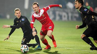 Sosnowiec. 1/4 finału Pucharu Polski. Zagłębie - Cracovia 1:2
